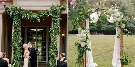 january 2014 style arch design inspiration creative wedding arch ideas