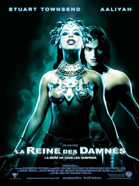 film queen of the damned queen of the damned review trailer teaser poster dvd