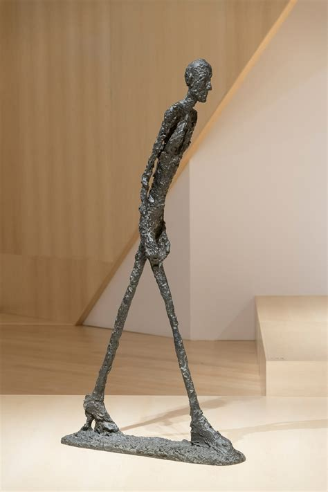 Nez De Marche 414 by Alberto Giacometti Termin 233 Es Expositions Mnbaq