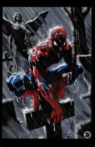 spider man pondering kyle chaney deviantart