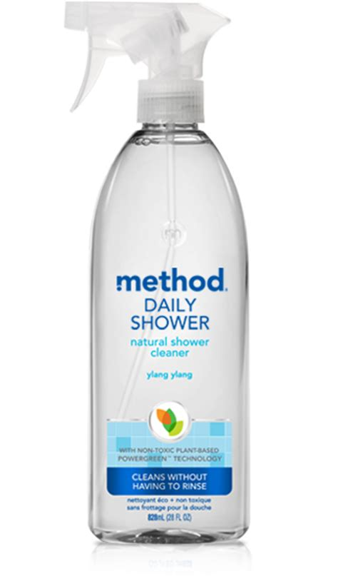 daily shower cleaner ylang ylang method
