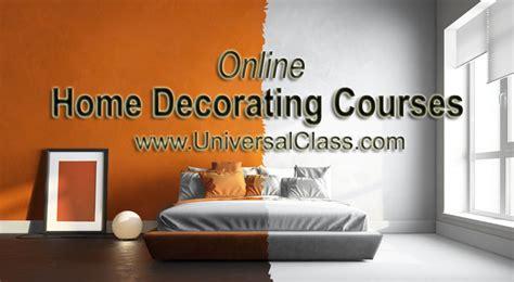 home decorating courses universalclass
