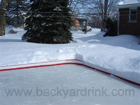 triyae tarp for backyard rink various design