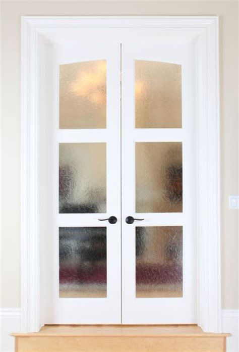 bedroom doors with frosted glass frosted glass french doors house plans pinterest
