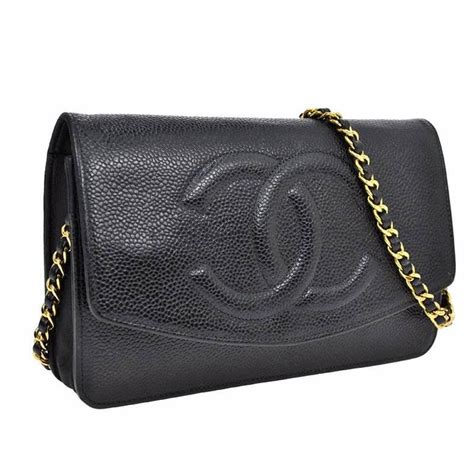 Ch Nel Woc Caviar 1 chanel woc black caviar wallet on chain 3way crossbody bag for sale at 1stdibs