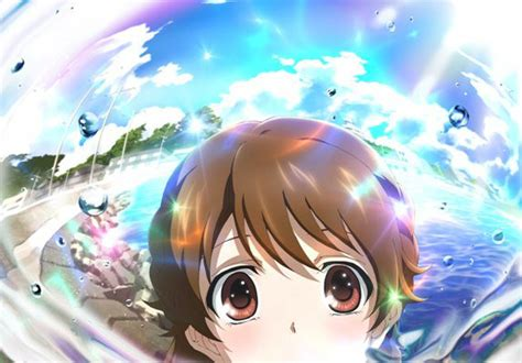Anime P by Crunchyroll P A Works Teases Summer Anime Quot Glasslip Quot