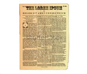revolutionary war newspaper template newspaper template 20 jpg psd format