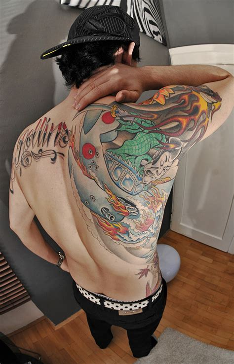 tattoo yakuza back comics yakuza back by johnnyrollins on deviantart