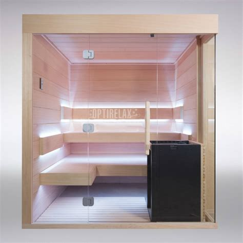 sauna mit glasfront sauna mit glasfront clear i optirelax