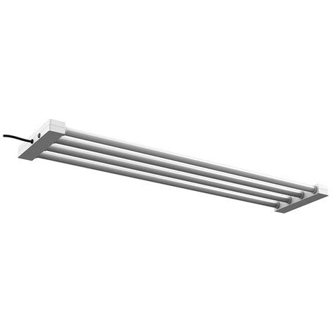 led utility shop light feit electric 4 ft 4 light 76 watt white integrated led