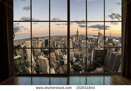 Bay Window Desk by Window View Stock Images Royalty Free Images Amp Vectors