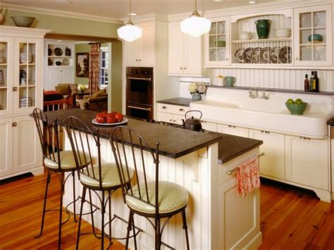 home design living room kitchen island table living room style kitchens hgtv