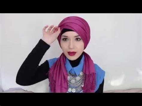 hijab tutorial l turban hijab tutorial l turban by nabiilabee hijab tubetorial