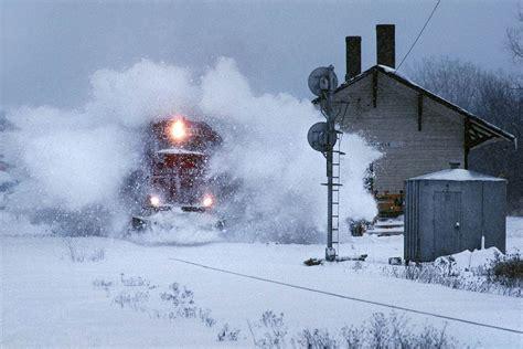 tren de invierno trenes en paisajes de invierno friki net
