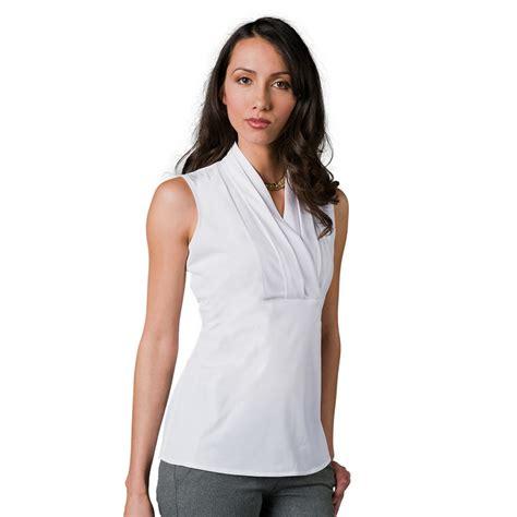 Cross Top Blouse Atasan Wanita Bl982 blouse sleeveless womens blouse with