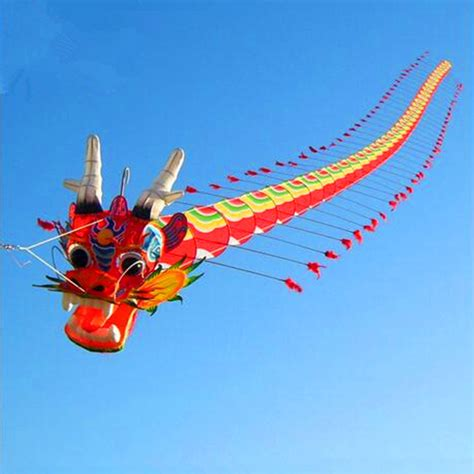 new year fish kite high quality traditional kite 7m with