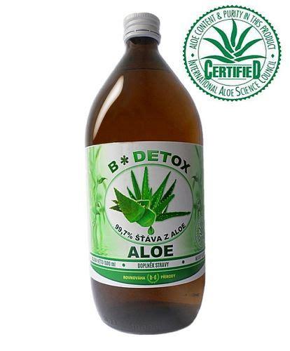 Aloe Detox Shoo by šť 225 Va Z Aloe 99 7 1000 Ml Bio Detox