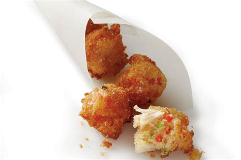 crab hush puppies crab cake hush puppies 14 festive mini appetizers southern living