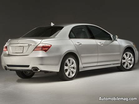 2009 Acura Rl Price 2009 Acura Rl Reviews And Rating Motor Trend