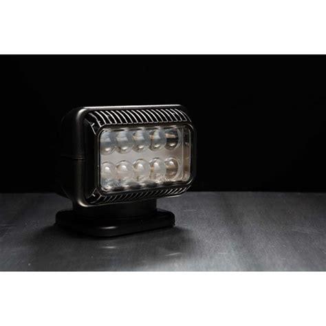 12 Volt Led Spot by 12 Volt Portable Led Spot Light With Wireless Remote Black