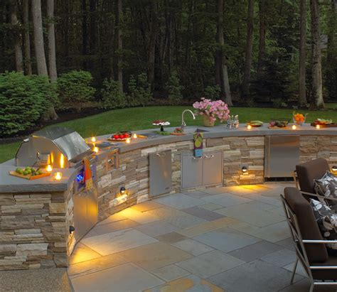 outdoor kitchen lights effective elegant landscape lighting boston design guide