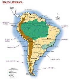 map of patagonia south america south america map argentina bolivia brazil
