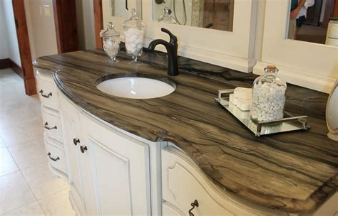 porcelain slab countertops light  durable decor