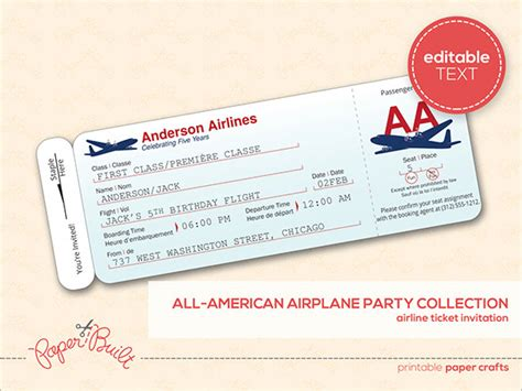 Flight Ticket Template Gift by Ticket Templates 99 Free Word Excel Pdf Psd Eps