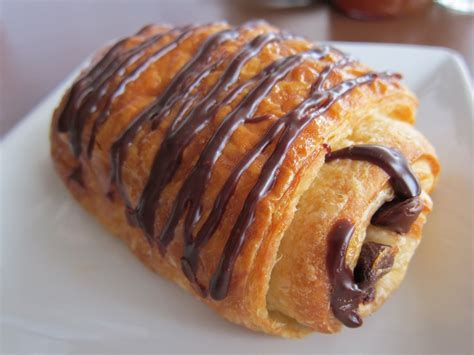 Croissant Coklat pastry food bright bake