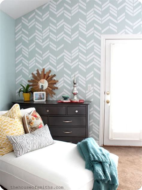 herringbone pattern wall decals scattered herringbone wall decal in jen s house