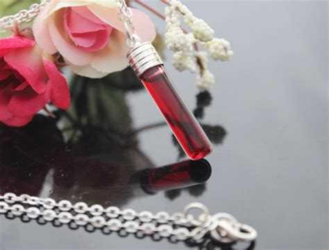 Anting Vintage Droplets Blue Gem Korean Style Casual vial jewelry blood vial jewelry wear blood vial necklaces colorful camero colorful