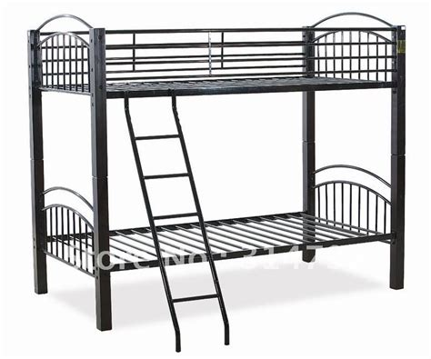 Metal Bunk Bed Made Of Solid Wood With Painting And Steel Used Metal Bunk Beds