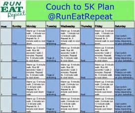 run a 5k plan for new runners
