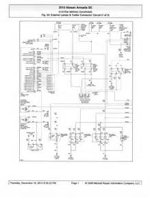 2009 nissan titan trailer wiring diagram efcaviation