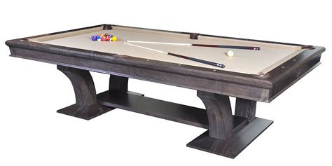 Unique Pool Tables by Metro Treviso Custom Pool Table
