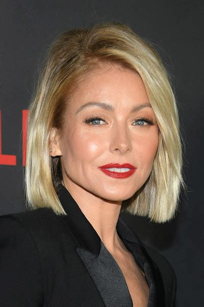 kelly ripa hair kelly ripa b o b b o b lookbook stylebistro