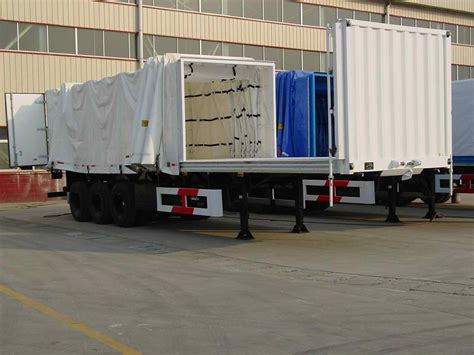 side curtain trailer curtain side trailers
