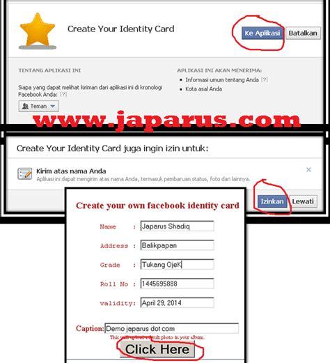 cara membuat id card facebook 507 creator berita burung cara bikin id card ala chibi