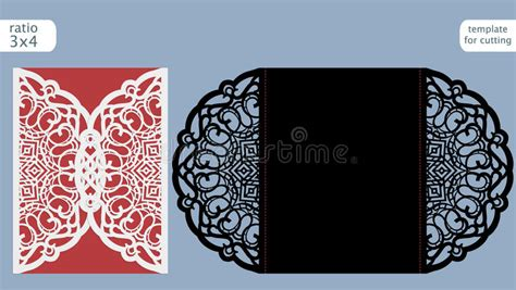 paper lace templates card laser cut wedding invitation card template cut out the