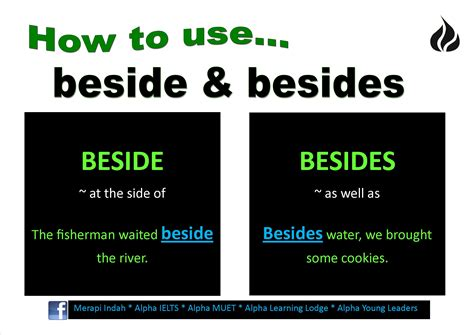 how to use how to use beside and besides merapi indah