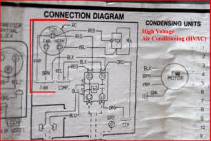 hvac how to replace the run capacitor in the compressor unit