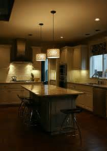 Kitchen Island Light Kitchen Island Lighting System With Pendant And Chandelier Amaza Design