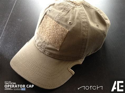 Tactical Gear Giveaway - notch gear tactical operator cap giveaway