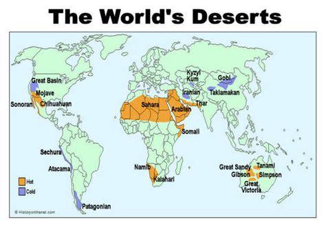 map of deserts maps the gobi desert
