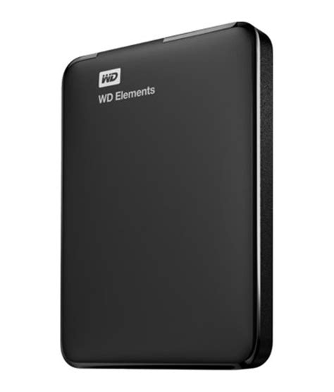 Hardisk External 1tb Wd Elements 1tb Usb 3 0 Wdbuzg0010bbk Black Buy Rs