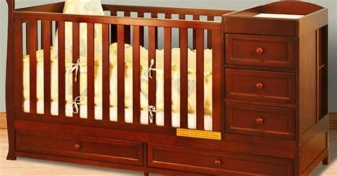 Delta Cambridge Crib And Changer by Afg I 2 In 1 Convertible Crib And Changer Combo In Cherry Baby More