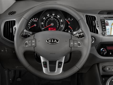Kia Soul Steering Wheel Size Image 2011 Kia Sportage 2wd 4 Door Ex Steering Wheel