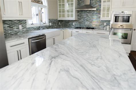 White Marble Countertops by Marble Countertops For Kitchens Angie S List