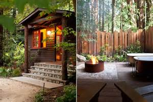 big sur cabin at glen oaks big sur california