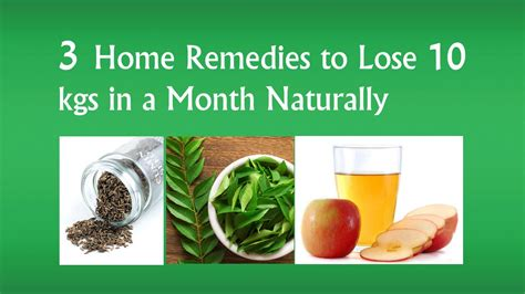 home remedies to lose weight fast without exercise lose